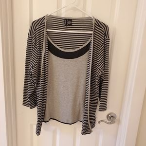 Jason Maxwell Double Layer Top | Size XL